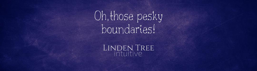 Oh, those pesky boundaries!